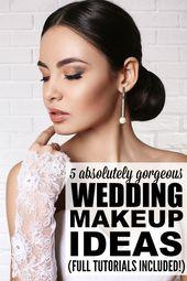 5 wedding ceremony make-up tutorials