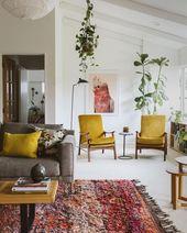 Bold colours / #wohnzimmer