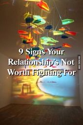 Relationdepot 9 Signs Your Relationship's Not Worth Fighting For