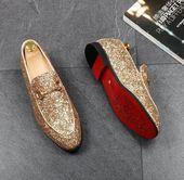 Zapatos de vestir de diseñador casual para hombres   – Fashion