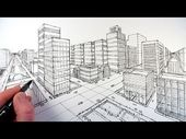 Video: EXTERIOR 2 point Perspective (Get the basic…