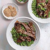 Gesundes Rindfleisch und Broccoli Stir Fry
