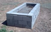 15 Creative Cinder Block Raised Garden Beds