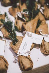 Drömmande vitt och blush bröllop i Kanada