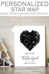 BENUTZERDEFINIERTE Himmelskarte nach Datum und Ort – Ehemann von Frau, Bundesstaat Louisiana, Februar …   – Husband From Wife