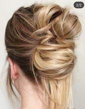 Hairstyles For Medium Hair | Formal Bun Hairstyles | Medieval Hairstyles 20191013