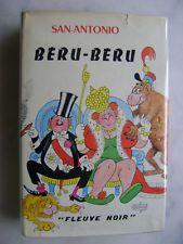 Frederic Dard Dubout San Antonio Beru Beru Fleuve Noir 1970 Livre Vente Livre Livres A Lire