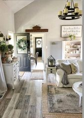 79 My farmhouse style living room – home accessories blog