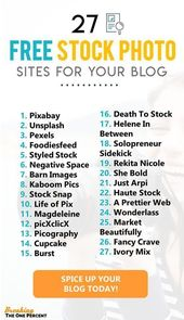 27 Best Places to Find FREE Stock Photos That Look…