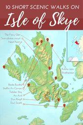 10 brevi passeggiate sull'isola di Skye