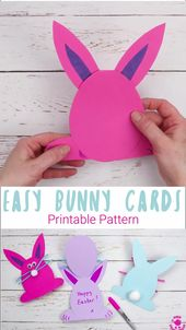 Baby Cards Easy Peasy Bunny Cards