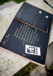 20 Modern Guest Books To Steal For Your Wedding