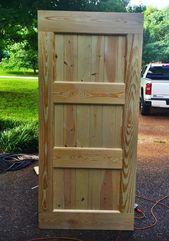 how to build a barn door – The Handmade Home