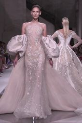 Ziad Nakad Look 49. Fall Winter 2019/2020 Haute Couture Collection