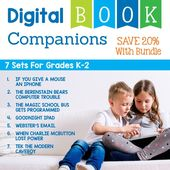 Digital activities for the book7 Technology Themed Picture Booksthat are perfect for grades K-2. Each digital book companion has 12 total digital …