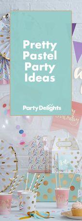 Pretty Pastel Party Ideas