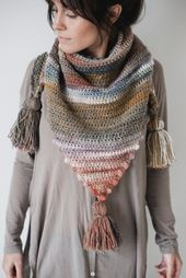 The Snuggle Puff Scarf – Free Crochet Pattern — Megmade with Love