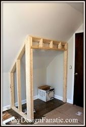 STEALING FLOOR SPACE TO BUILD A CLOSET