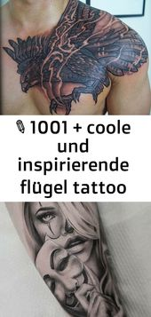 ▷ 1001 + coole und inspirierende Wings Tattoo Designs und deren Designs 119 – Tattoos