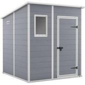 Keter Kunststoff Workhouse House Artisan 7×7 grau / anthrazit 214x218cm KeterKeter …   – Anbau Grau