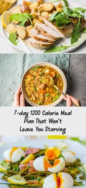 7-day 1200 Calorie Meal Plan That Won't Leave You Starving – Pinokyo