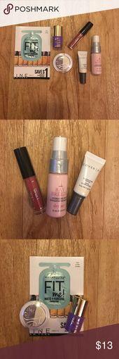 Make Up Sample Bag!!! Make Up Sample Bag includes: Maybelline Fit Me Matte + Por…