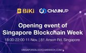 ChainUP and BiKi.com Host Opening Event of Singapore Blockchain Week ift.tt/2NpWYFm
