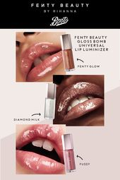 There S No Such Thing As Too Much Gloss 3 Shades Of Fenty Beauty