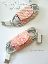 DIY sewing gift ideas for adults and children, teenagers, women, men and baby – DIY cord …   – Elisa Projects