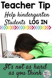 Tips for Logging Kindergarten Students onto a Chromebook – Della Larsen's Class