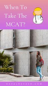Fragen Sie sich, wann die beste Zeit für die MCAT ist? Der Test dauert 7,5 Stunden.   – college tips