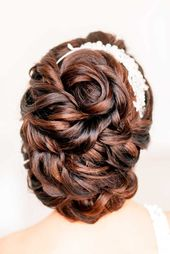 42 Mother Of The Bride Hairstyle, Latest Bride Hairstyle 2019