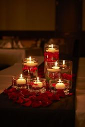 Romance Valentine Candle Decor Ideas Pinterest