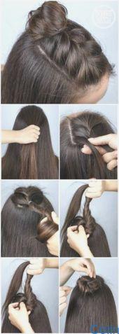 #Haar #FrisurenFormediumLängeHaar #Pinterest #Tutorials 42 Best Pinterest Hair Tutorials - Kali Ambrosius 42 Best Pinterest Hair Tutorials P ...