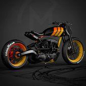 """custom motorrad auf Instagram: """"Waspy #Repost Zig …   – Transportation"""