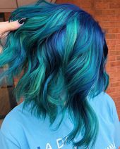 Popular Short Blue Hair Ideas in 2019 – Erika Philbin Bibby