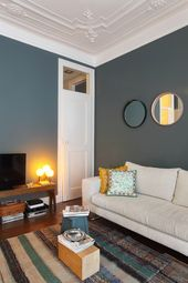 salon bleu canard 6 - Decoration Salon Bleu