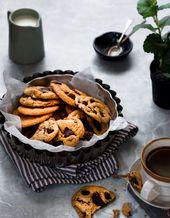 Perfekte Dinkel-Schokoladenkekse