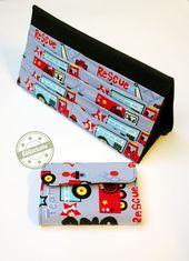 Baby Cards EGGsclusiv: Tasche für Kartenspiele und Kartenhalter für Kinder genäht nach A...