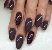 36+ Pretty Trending Fall Nails; coffin nails; Fall gel nail; short Purple nails;…