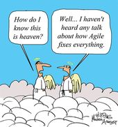 Humor – Cartoon: Agile Fixes Everything…