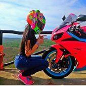 #bike #bild #lyfe #maedchen #motorrad #motorradbilder –    – Auto und Mädchen