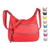 Photo of WOMEN BAG HOBO BAG Shoulder Bag Flower Shopper Leather Optic Shoulder Bag: …