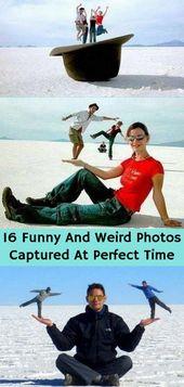 Mükemmel Zamanda Çekilen 16 Komik Ve Garip Fotoğraf