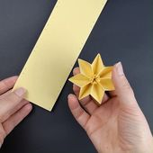 Folding Pleated Stars – Instructions, Template – Diy Project