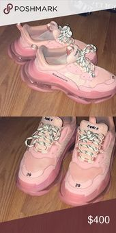 light pink balenciaga sneakers
