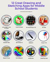 12 Nice Drawing and Sketching Apps for Center Faculty College students