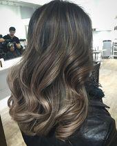 Do cabelo preto ao lindo castanho claro que derrete. A integridade   – Haare