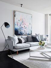 Wohnzimmer Kunst – Mobelde.com