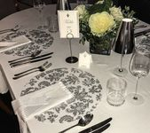 Rundes Silber, Ladegeräte für Hochzeiten, Hochzeitsdekorationen (20 Stück) Tischsets   – All Products